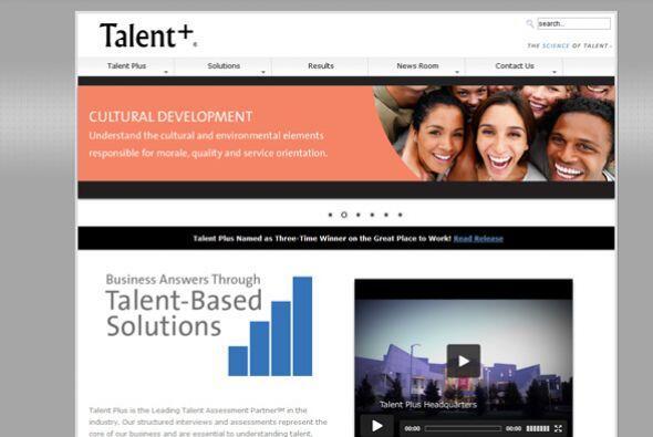 2. Talent Plus  Industria: Servicios profesionales.  Número de empleados...