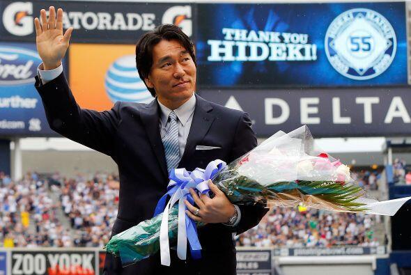 Hideki Matsui.