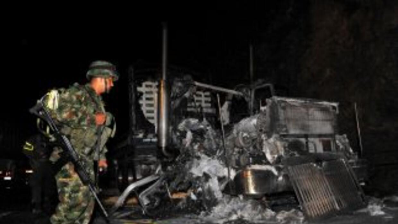 El saldo fue de dos suboficiales y cinco soldados muertos.