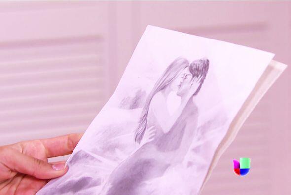 Mira el hermoso dibujo que hizo, ¡está bellísimo!