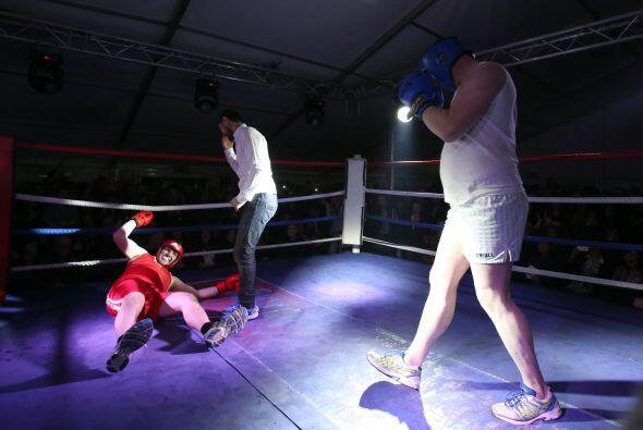 """""""Pasé de boxear a bailar en un momento, no sabía si tenía que golpear a..."""