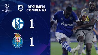 Schalke 04 1-1 Porto - GOLES Y RESUMEN - UEFA Champions League