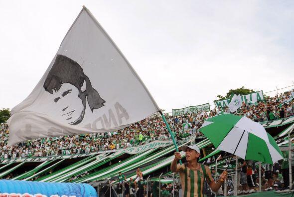 Atlético Nacional celebró el ´Día del hincha verde´en el estadio Atanasi...