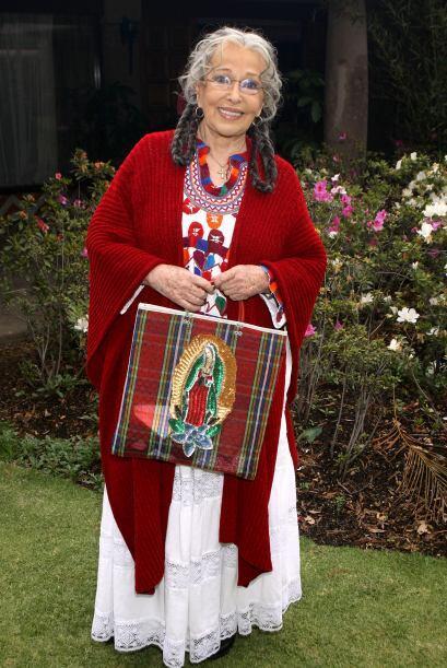 También formará parte del elenco Luz María Aguilar.