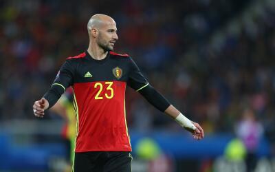 Laurent Ciman ha disputado once partidos con la selección belga