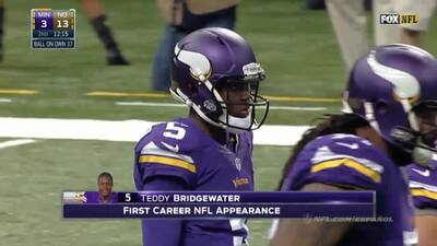 Teddy Bridgewater highlights