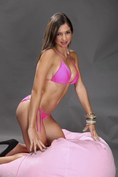 Cristina Barnea, candidata a Miss Pechonalidad