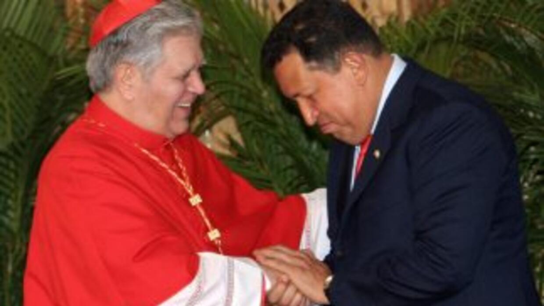 Jorge Urosa Savino es el arzobispo de Caracas y desde Roma oficiará misa.