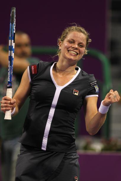 Clijsters logró así el tútulo número 40, en su carrera profesional.