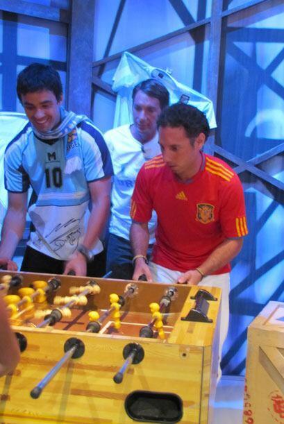 Matías de Argentina, Alvaro de Uruguay y Josep de España se súper concen...
