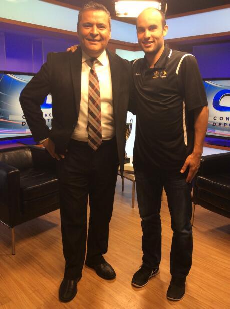 Landon Donovan en Univision Chicago