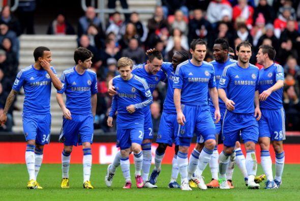 Paecía que el Chelsea podía sumar y hasta tres puntos.