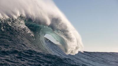 Registran la ola más alta jamás vista en el hemisferio sur