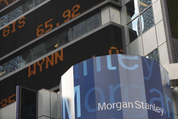 MORGAN STANLEY- El banco de negocios Morgan Stanley tuvo una pérdida de...