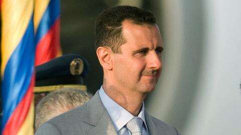 """Bashar al-Asad niega el ataque químico en Siria y lo califica de """"invent..."""