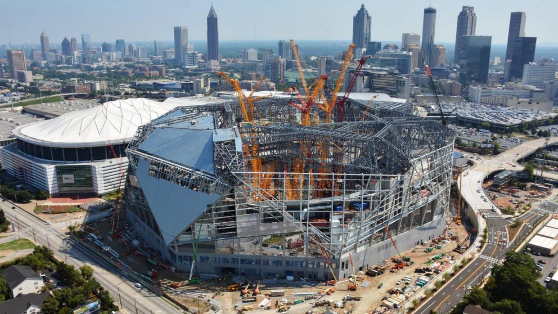 Atlanta est construyendo un estadio de 1 200 millones de for Mercedes benz parts atlanta