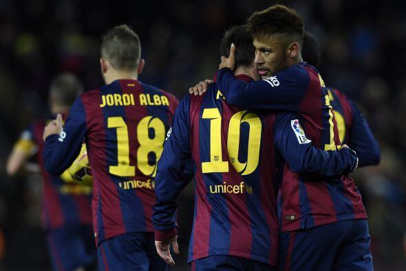 Barcelona sufrió para sacar el triunfo como local ante un gran Vi...