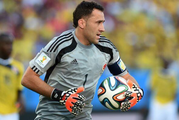 David Ospina, uno de los mejores jugadores de Colombia en el Mundial 201...