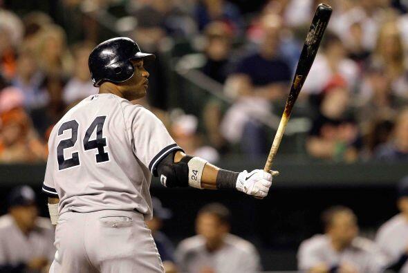 Segunda base: El intermediarista de los Yankees, Robinson Canó, logró un...