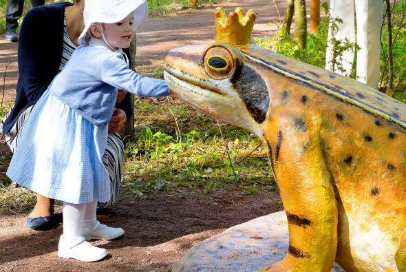 También había cisnes y ranas con corona de príncipe.
