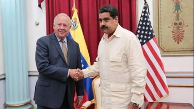 """Maduro: """"Fue una buena conversación"""" la que tuvo con Thomas Shannon sobr..."""