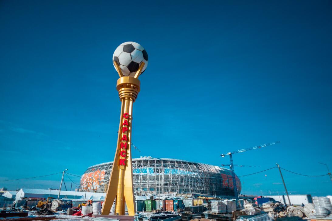 A finales de abril el Mordovia Arena (Saransk) tendrá sus primeras prueb...