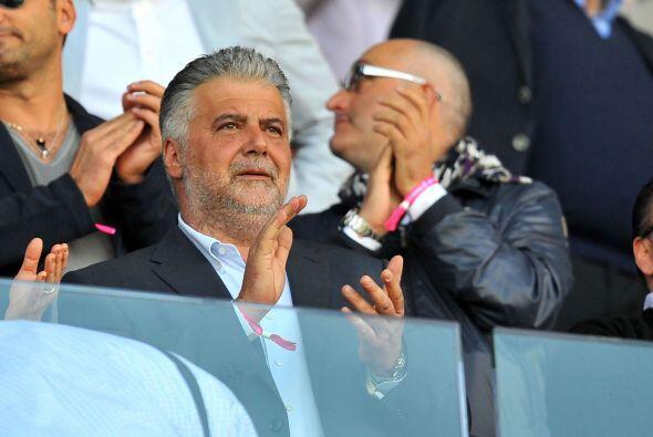 Albano Guaraldi, presidente del Bolonia, esperaba un buen resultado de s...
