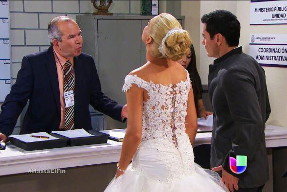 Está cometiendo un error señor Juez, Salvador no secuestró a Sofía.