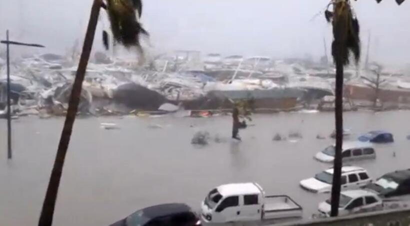 Image result for Nearly 10 dead as Storm Irma hits Florida, Caribbean