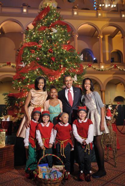 """El concierto """"Christmas in Washington"""" (Navidad en Washington) fue a ben..."""
