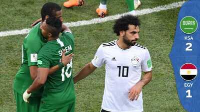 Con gol agónico: Arabia Saudita triunfa sobre Egipto y se despide dignamente del Mundial
