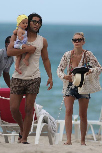 Falcao pasó unas vacaciones de ensueño con su familia en M...