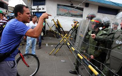 Tensión en las calles de Venezuela por decisión del tribunal supremo de...