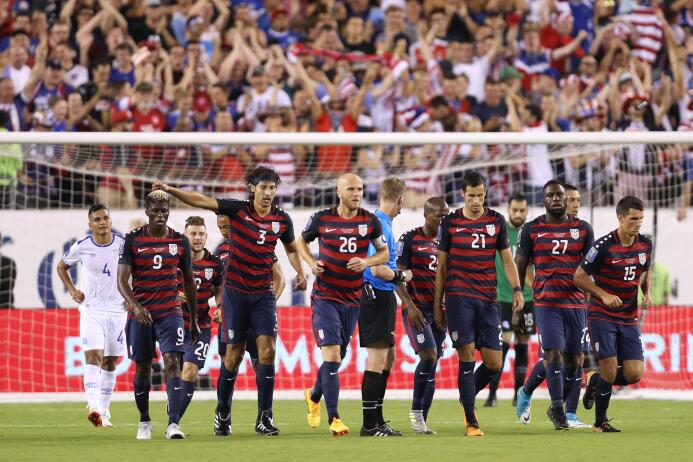 El Team USA despachó a El Salvador y sigue firme al título de la Copa Or...