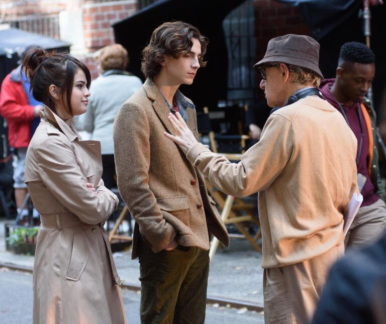 Timothée Chalamet también recibió la dirección de Woody Allen antes de f...