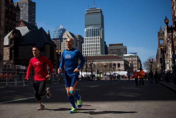 Por esa razón, correr en Boston es el sueño de millones de...