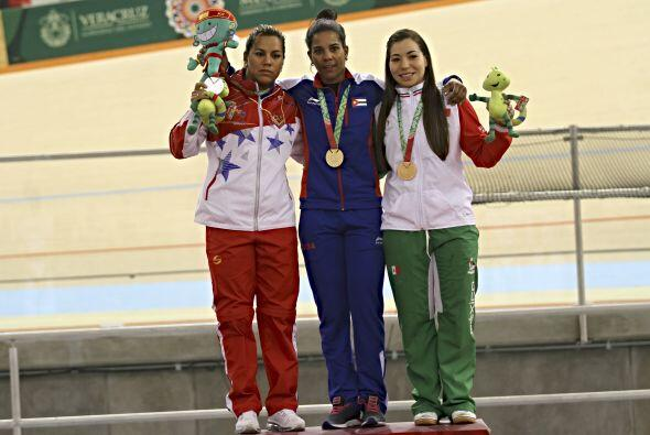 La pedalista cubana Lisandra Guerra logró coronarse campeona en l...
