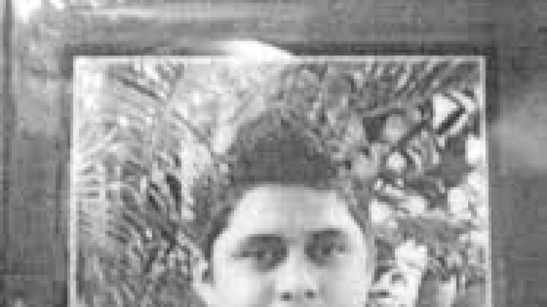 Aldo Gutiérrez, joven herido de Ayotzinapa.