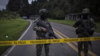 Crimen organizado en Morelos