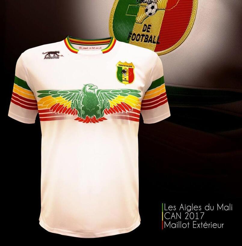 En la Copa Africana del 2017 la marca Airness se lució con las playeras...