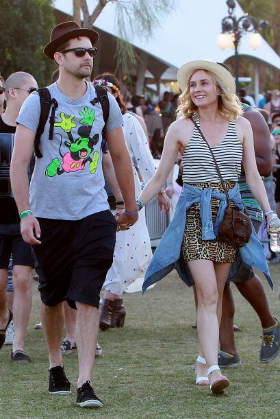 Joshua Jackson y Diane Kruger, una parejita amante de la buena mú...