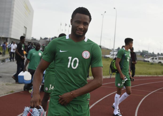 Nigeria: el capitán John Obi Mikel votó por Lionel Messi y Antonio Conte...
