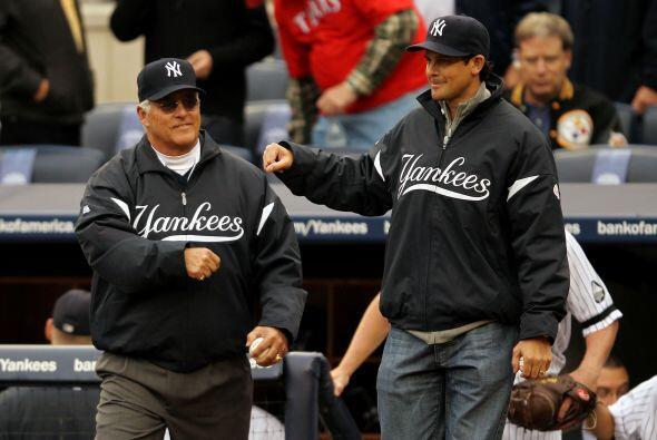 Bucky Dent y Aaron Boone, estrellas de los Yankees de no hace muchos año...