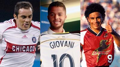 Jonathan dos Santos y otros jugadores del 'Tri' que pasaron por la MLS