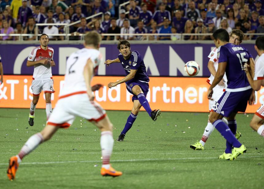 Kaká aseguró el triunfo para Orlando City SC por la mínima de tiro penal...