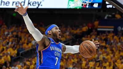 Carmelo Anthony ya firmó con los Houston Rockets