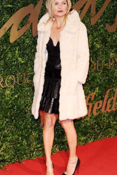 Una de las mejores vestidas de la noche fue nada menos que la 'top model...