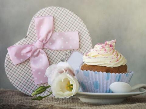A nadie le disgusta un buen 'cupcake', decorado con amor y si est&aacute...