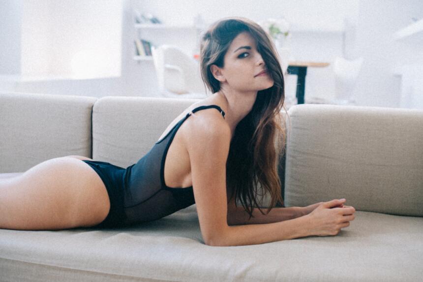 La modelo italiana Linda Morselli es novia de Valentino Rossi, quien hac...