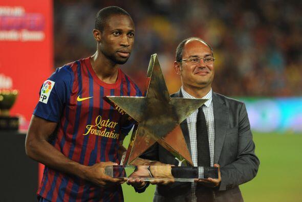 Más tarde, Keita fue el merecedor del premio al Mejor Jugador del...